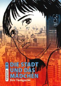 Jiro Taniguchi, Die Stadt und das Mädchen, Cover